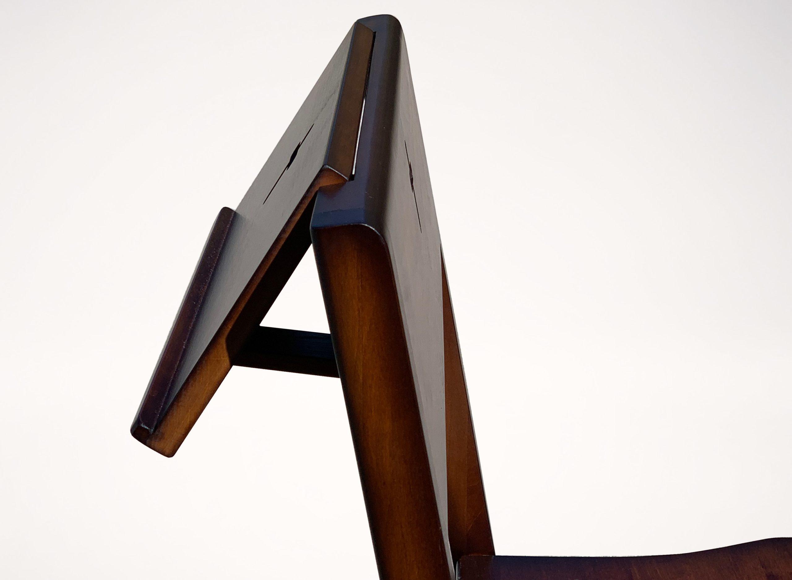 Bible holder folding desk for church chair ZOE.